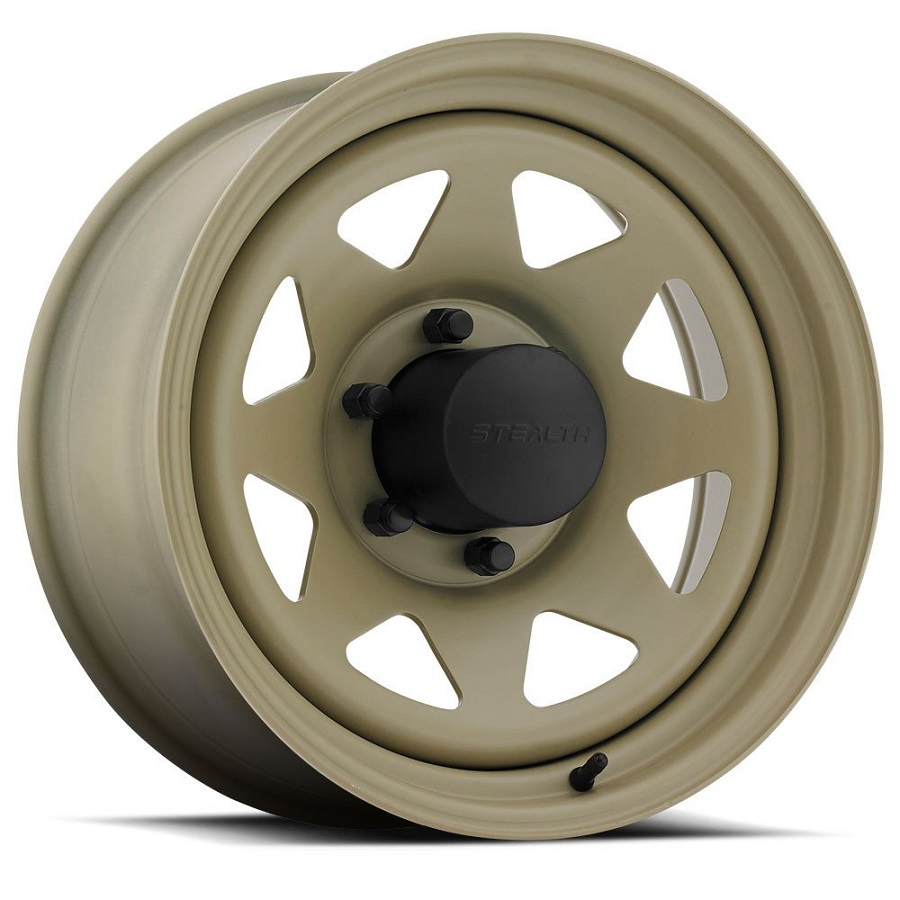 Stealth 8-Spoke  - Desert Sand (Series 704DS)