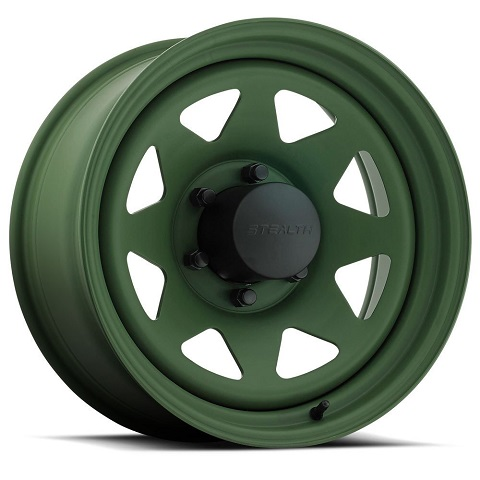 Stealth 8-Spoke  - Camo Green (Series 704CG)