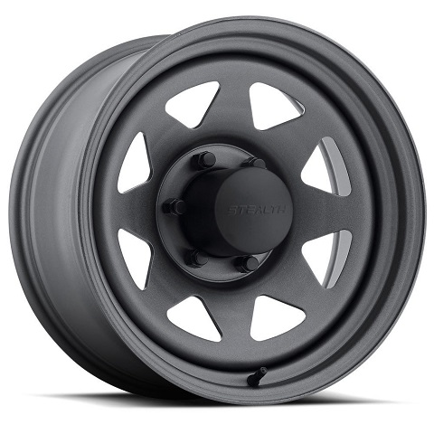 Stealth 8-Spoke  - Gunmetal (Series 704GM)