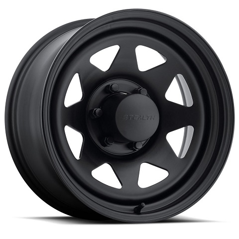 Stealth 8-Spoke  - Black (Series 704)