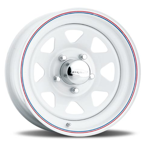 8-Spoke - White (Series 70)